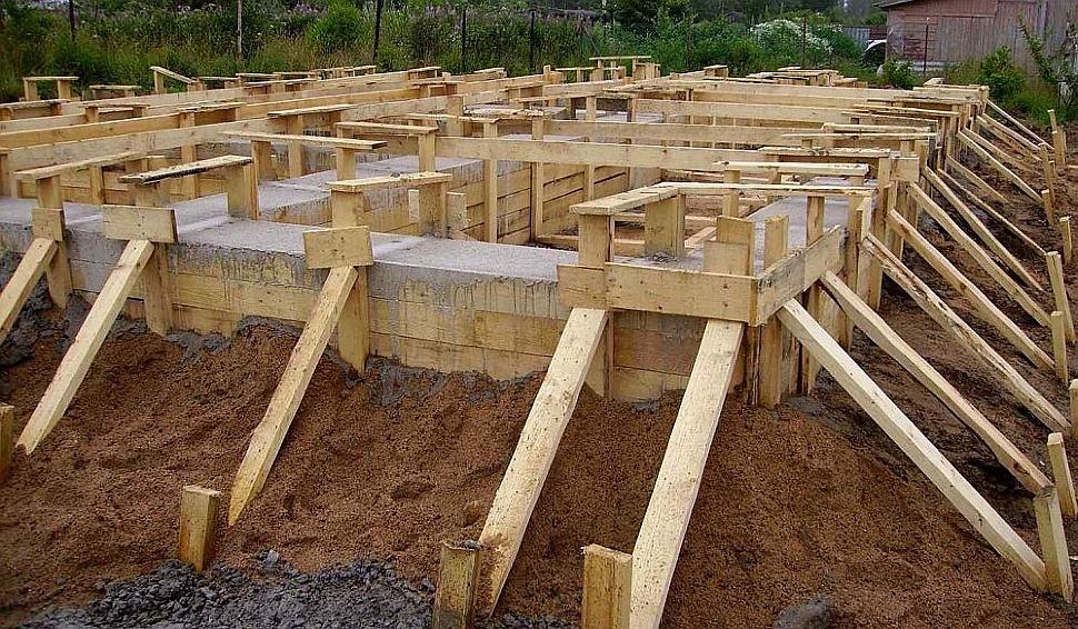 Виды фундаментов для каркасных домов