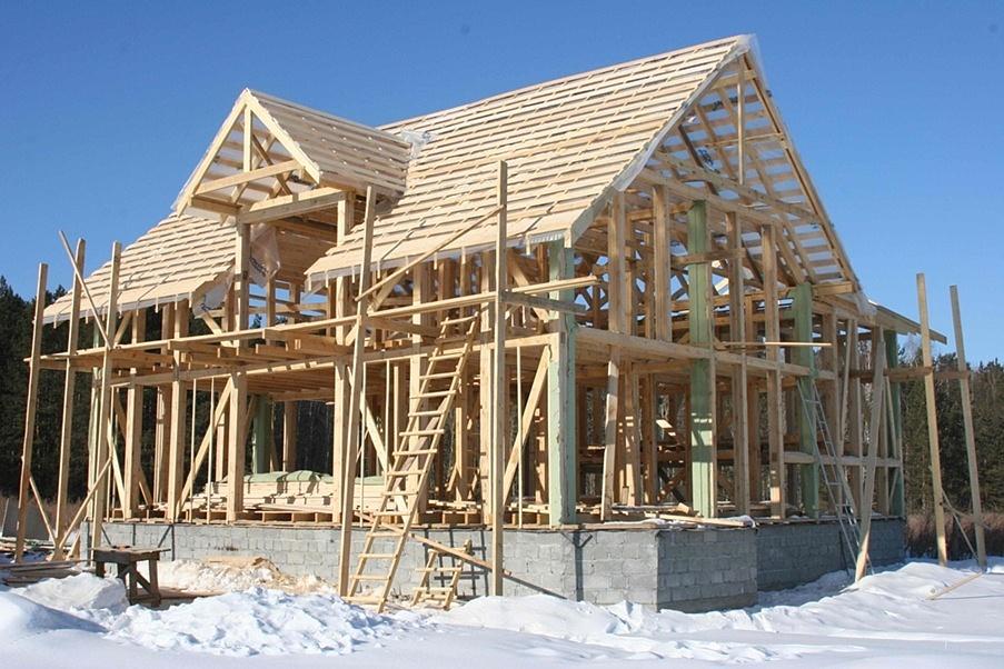 Дв каркас - строительство каркасных домов